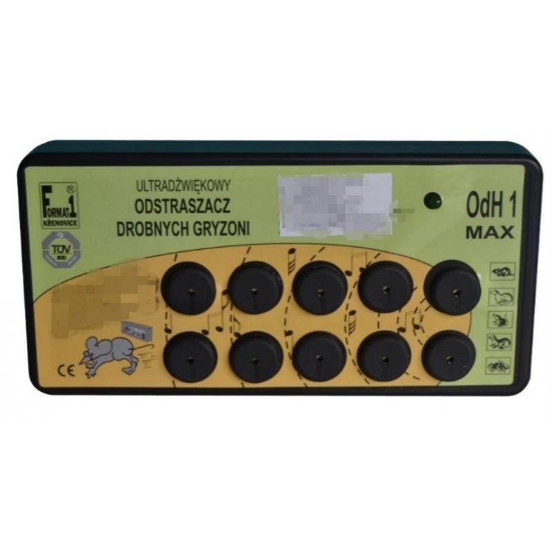 Ultradźwiękowy Odstraszacz Gryzonii ODH1 Max