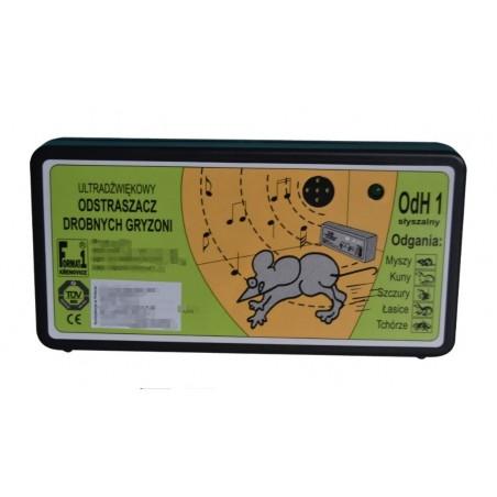 Odstraszacz Ultradźwiękowy Na Myszy i Szczury ODH1 S