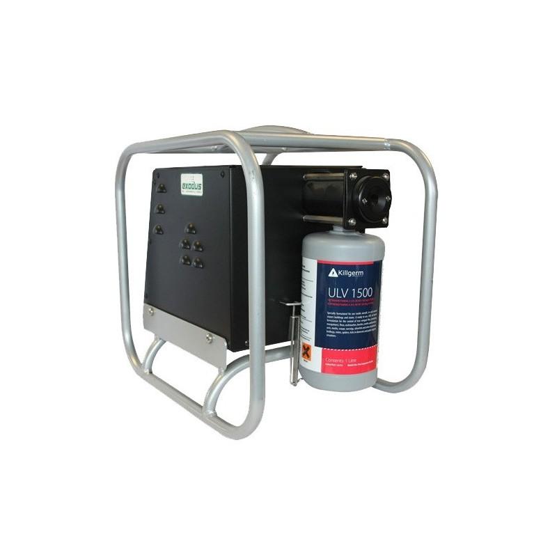 Zamgławiacz elektryczny Exodus 220V do dezynfekcji i do ochrony przed owadami.