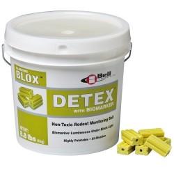 Detex kostka, wiaderko 4 kg