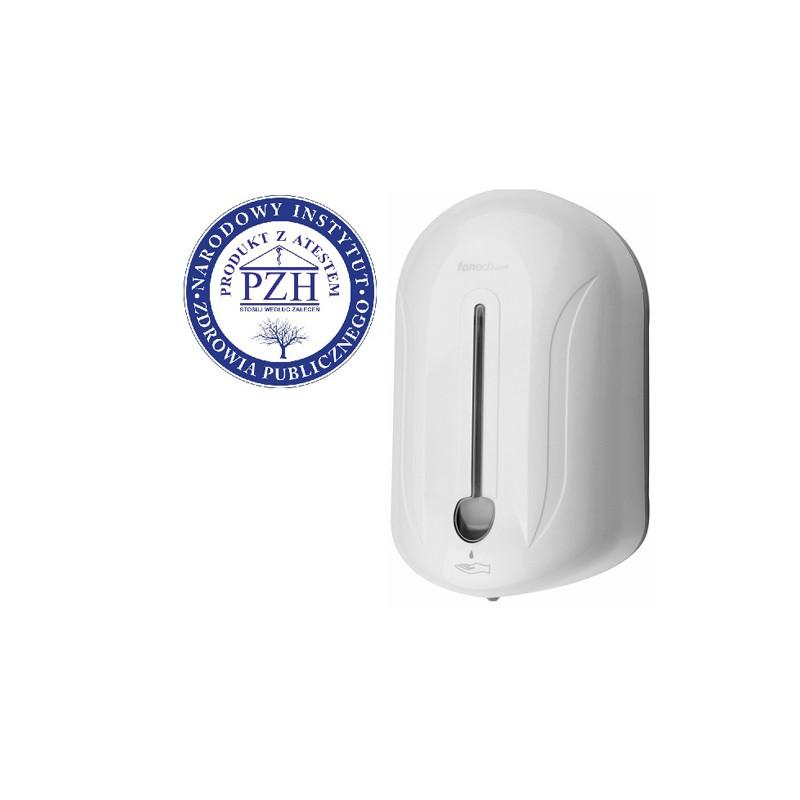 Automatyczny dozownik mydła w płynie i środków dezynfekcyjnych 1,1l POP Faneco.